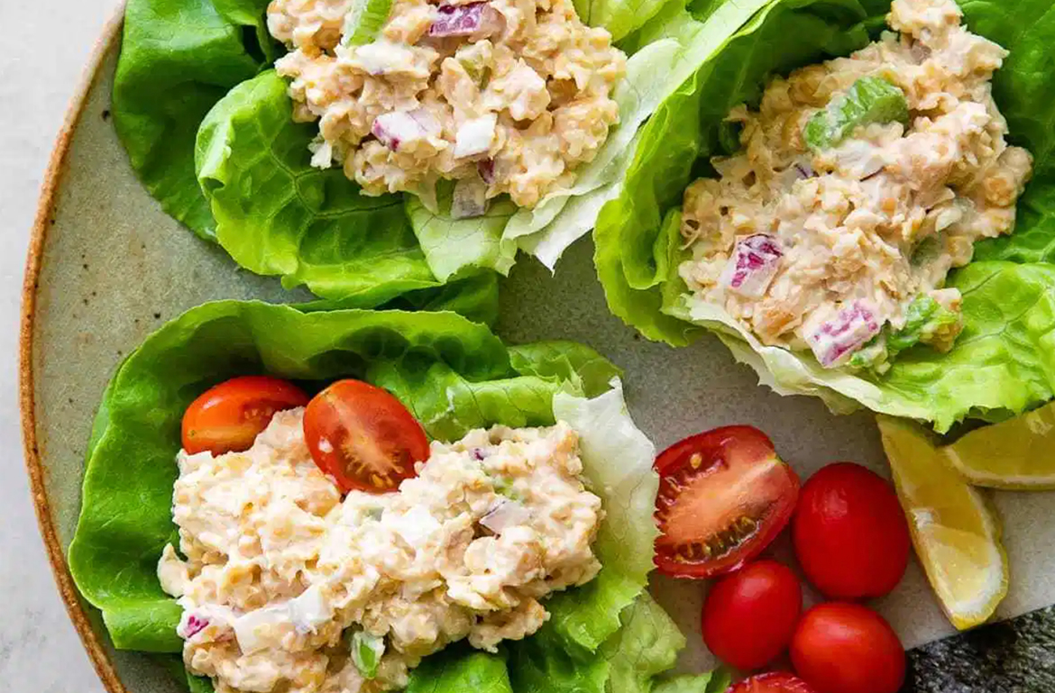 Thumbnail for This High-Protein 'Chickpea of the Sea' Tuna Salad Recipe Is Totally Vegan