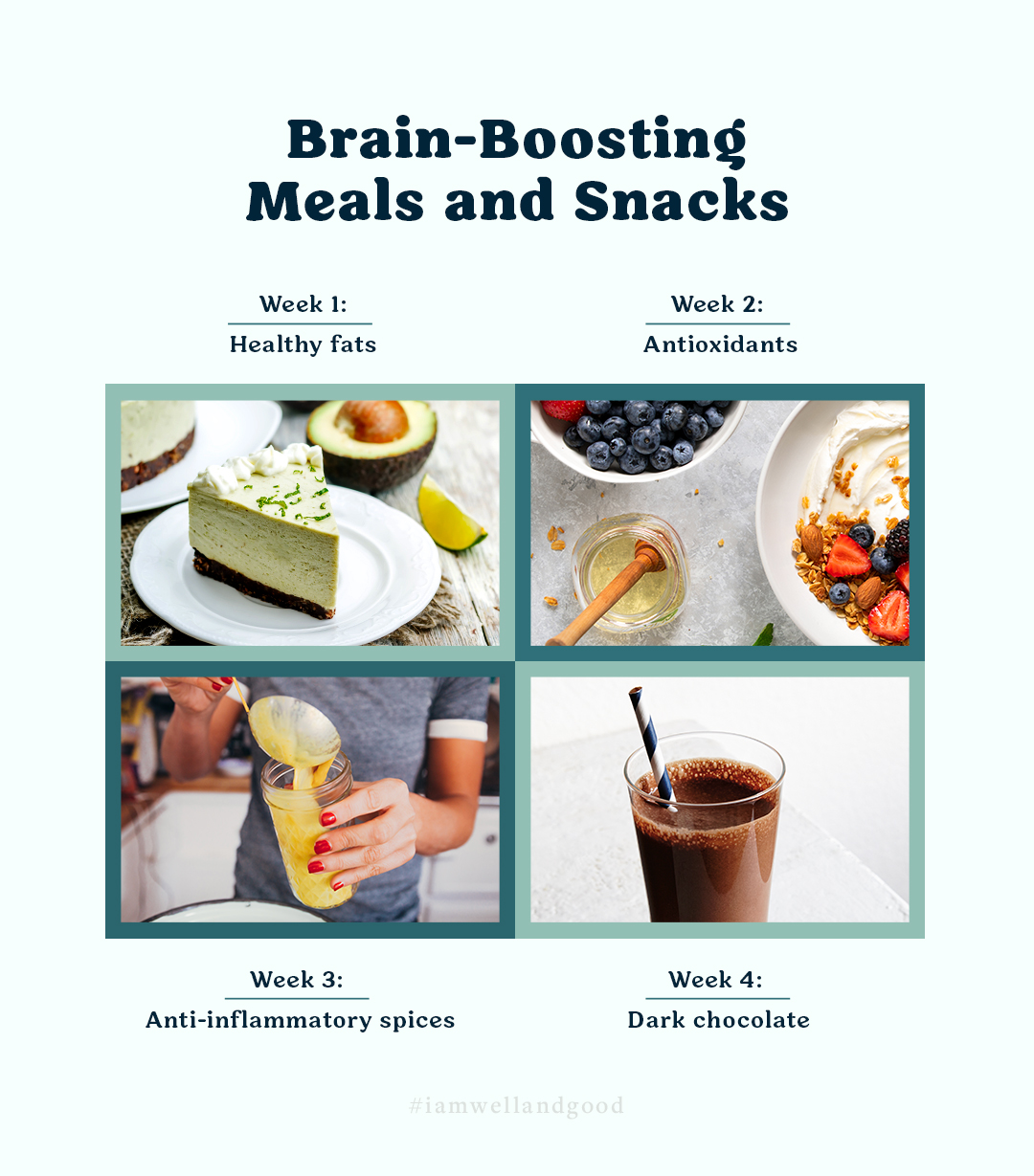 brain-boosting meals and snacks