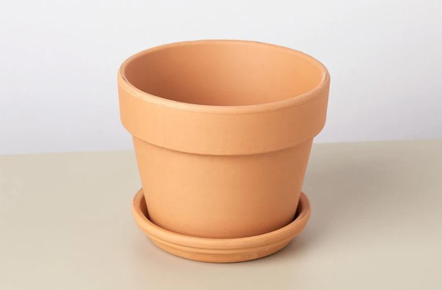 """House Plant Shop Short 4"""" The Terra Cotta pot"""