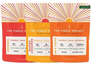 pinole project chia oatmeal