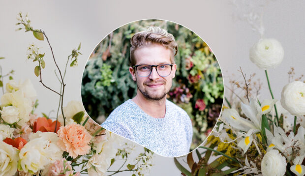 How To Turn Grocery Store Flowers Into Show-Shopping Floral Arrangements, According to 'Full Bloom' Winner Conner Nesbit