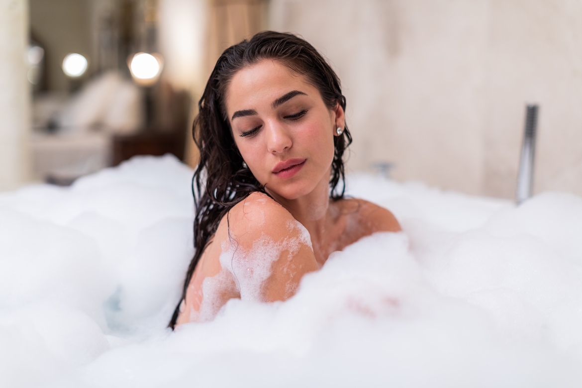 Thumbnail for Does a Bath *Actually* Get You Clean? A Derm and a Germ Expert Weigh In