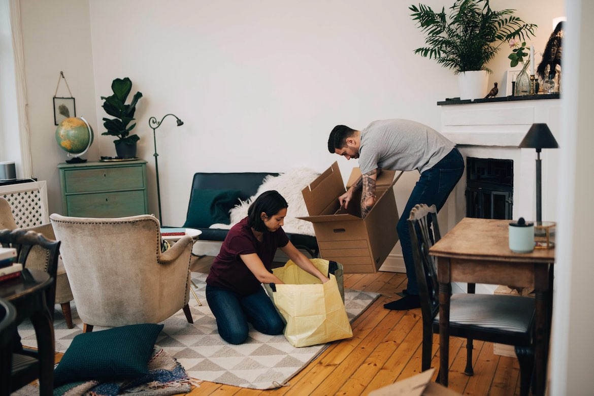 Thumbnail for Moving? Here's Your Guide To Deep Cleaning Your New Digs