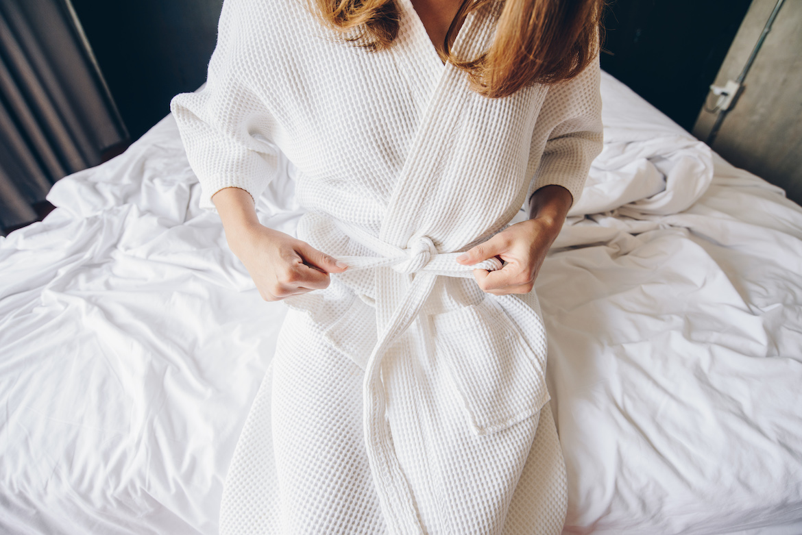 Thumbnail for Mother's Day Is Coming Up, So Snag One of These 7 Luxe Robes Before They Sell Out