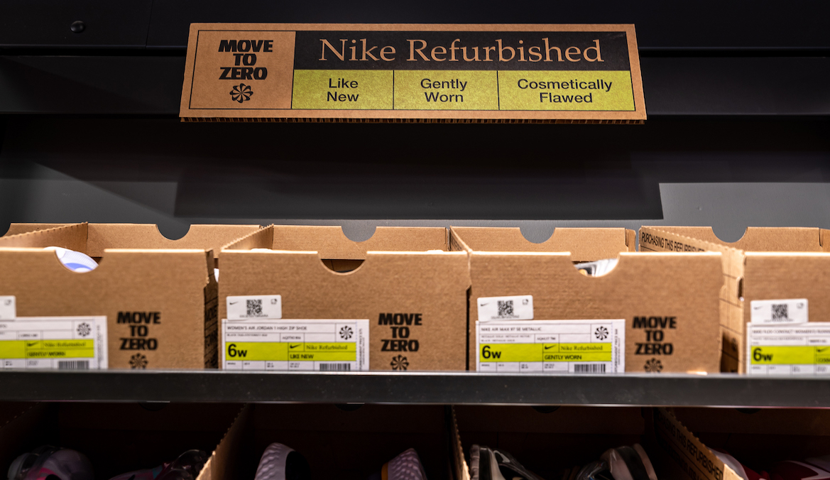 Nike Refurbished Footwear Sustainability Initiative | Well+Good