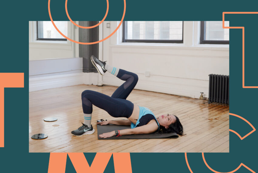 The Lower Body Slider Workout That Will Have Your Glutes Begging for Arm Day