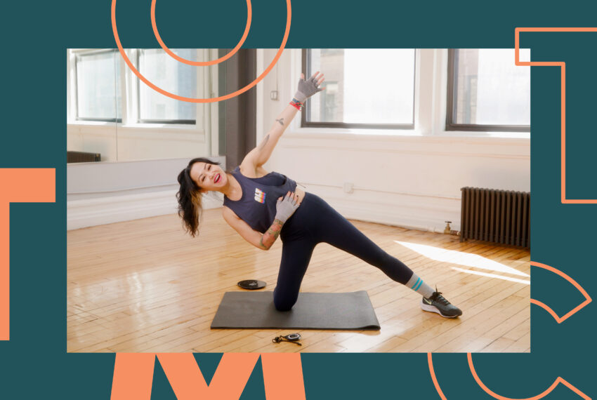 This 30-Minute Full-Body SLT Workout Is Like Having A Private Pilates Session From Home