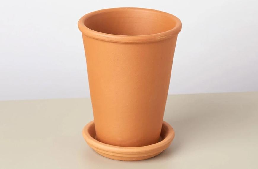 "House Plant Shop Tall 4"" The Terra Cotta pot"