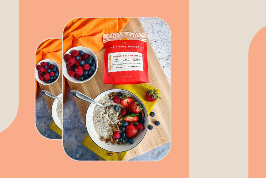 This New Pinole Chia Oatmeal Is the Superfood-Packed, Anti-Inflammatory Way to Sustain Your Day's Energy