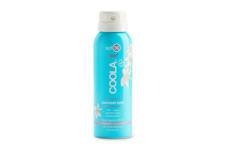 Coola Classic Body Organic Sunscreen Spray SPF 50, tsa sunscreen size