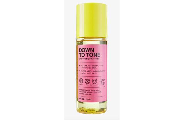 down to tone toner  