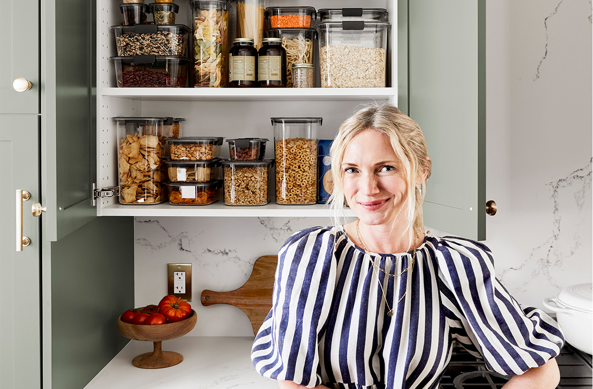 Thumbnail for 'Pantry Hierarchy' Is Key for Kitchen Storage, Says Expert Organizer Emily Henderson