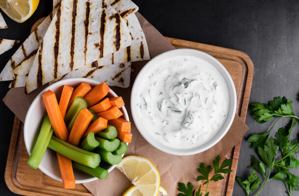 6 Sweet and Savory Yogurt Dip Recipes Because You Shouldn't Have to Choose