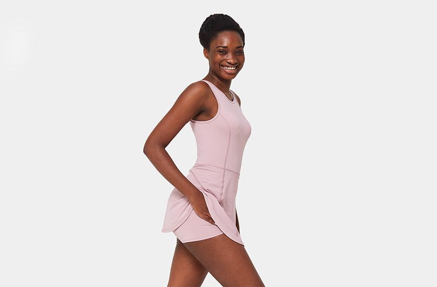Harlara Bloom, Tank Back 2-in-1 Dress
