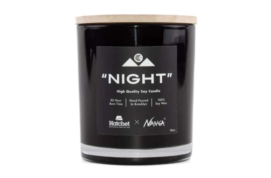 Hatchet Outdoor Supply Co.  Night Nanga Collab Candle