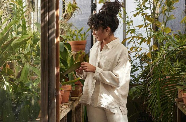 I'll Be Wearing Nothing But Parachute's New Linen Loungewear This Summer