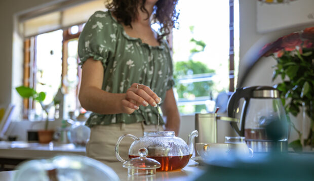 Easing an Upset Stomach Is Just One Benefit of Caffeine-Free Rooibos Tea