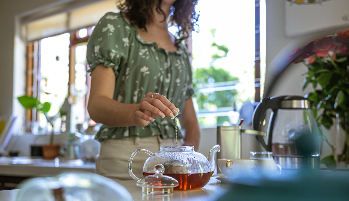 Thumbnail for Easing an Upset Stomach Is Just One Benefit of Caffeine-Free Rooibos Tea