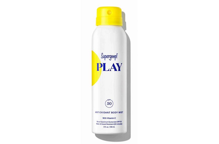 Supergoop Play Antioxidant Body Mist SPF 50 with Vitamin C