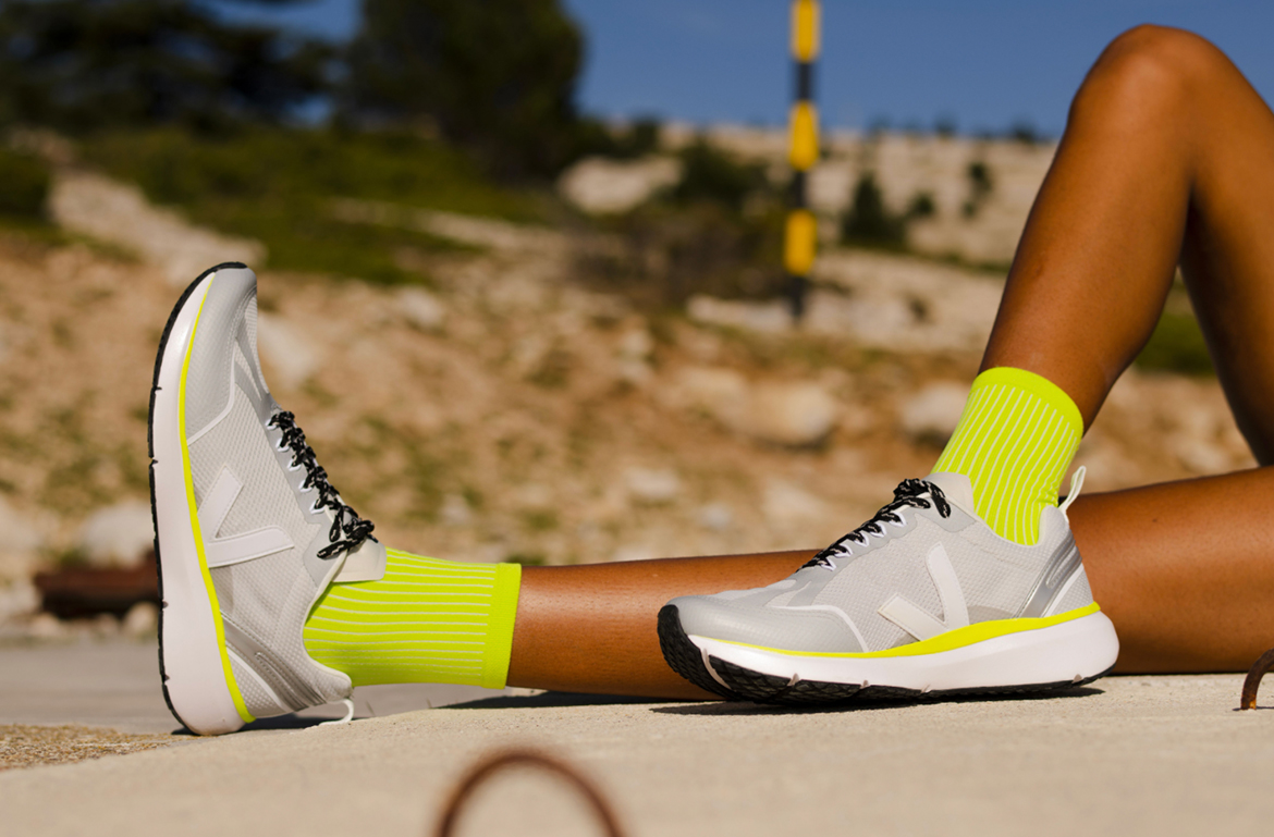 Thumbnail for Veja Just Launched a Sustainable Running Shoe That We Tested and Loved