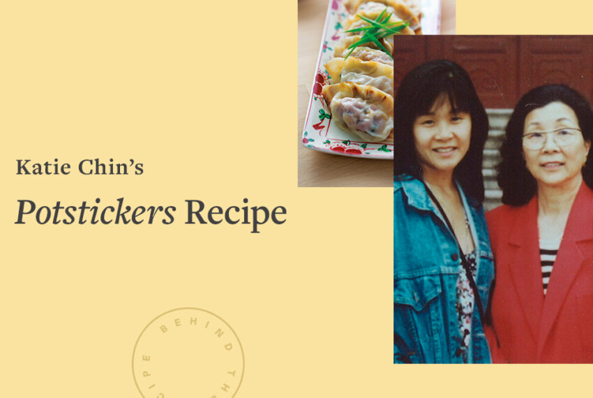 Celebrity Chef Katie Chin Shares Her Family's Chinese Potstickers Recipe