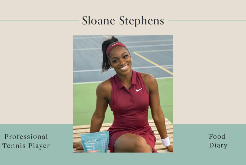 Here's What Tennis Champion Sloane Stephens Eats To Fuel Her Long Days On the Court