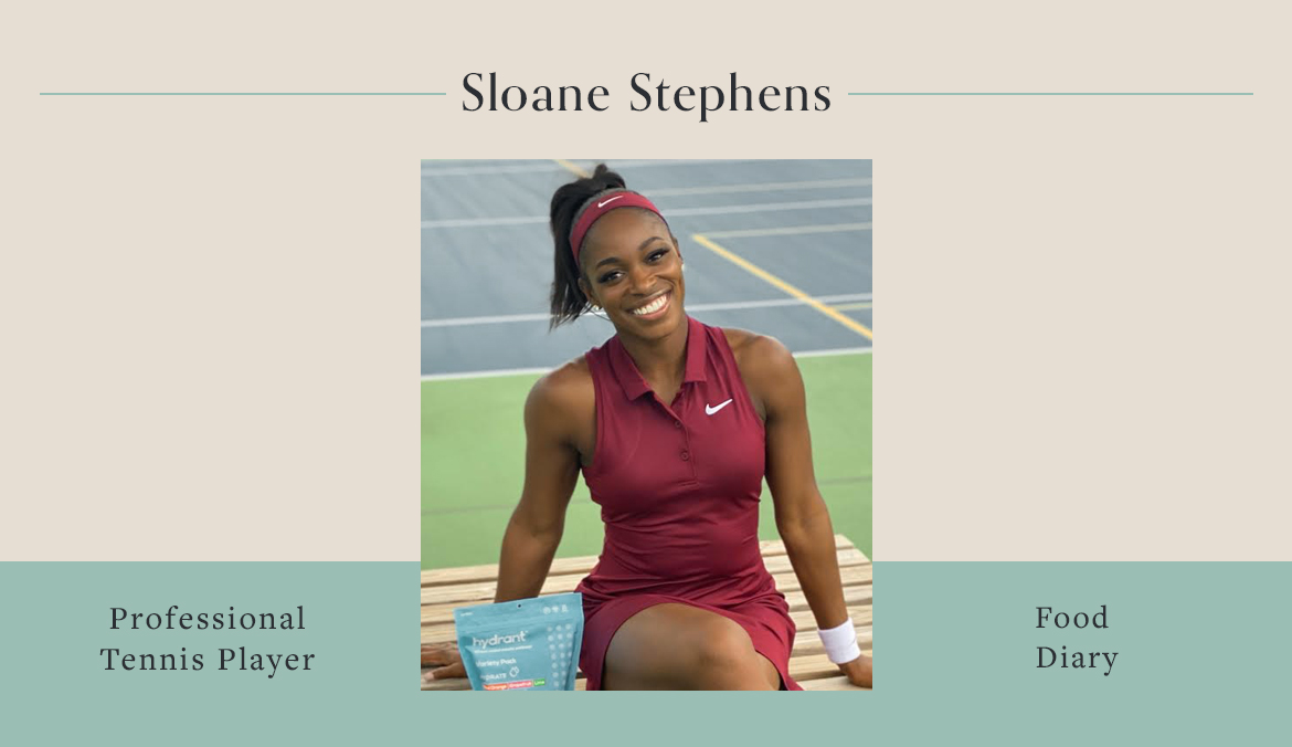 Thumbnail for Here's What Tennis Champion Sloane Stephens Eats To Fuel Her Long Days On the Court