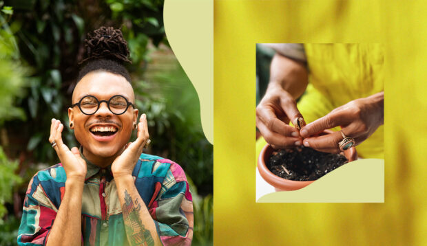 How To Grow Edible and Eye-Catching Little Peanuts, According to 'Plant Kween' Christopher Griffin