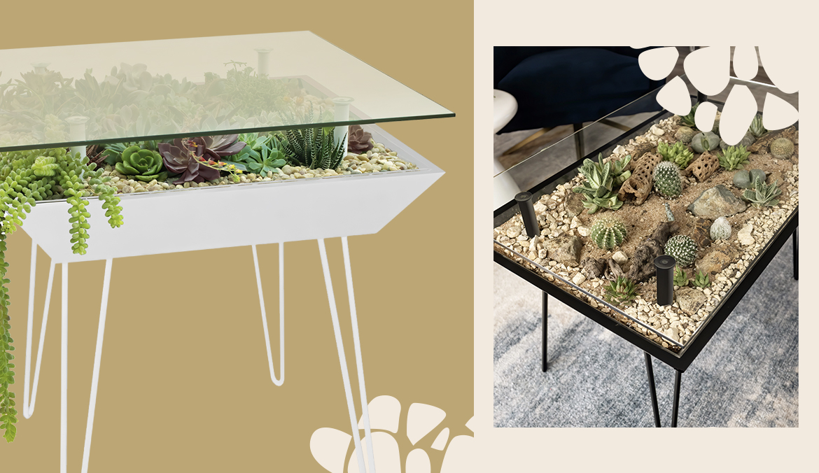 Thumbnail for This Furniture Line Focuses on 'Blooming Tables', and Is the First That Incorporates Plants Right Into the Design