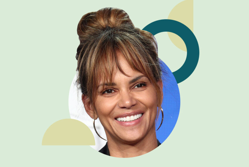 Strengthen Your Core With Halle Berry's 4-Move Ankle Weight Abs Workout