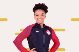 The 2 Stretches Olympic Gymnast Laurie Hernandez Does For Tight Hips and Calves