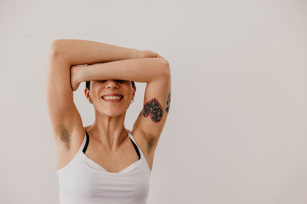 Thumbnail for 7 Ways to Ease Body Hair Anxiety Post-Pandemic If You've Decided to Keep Yours