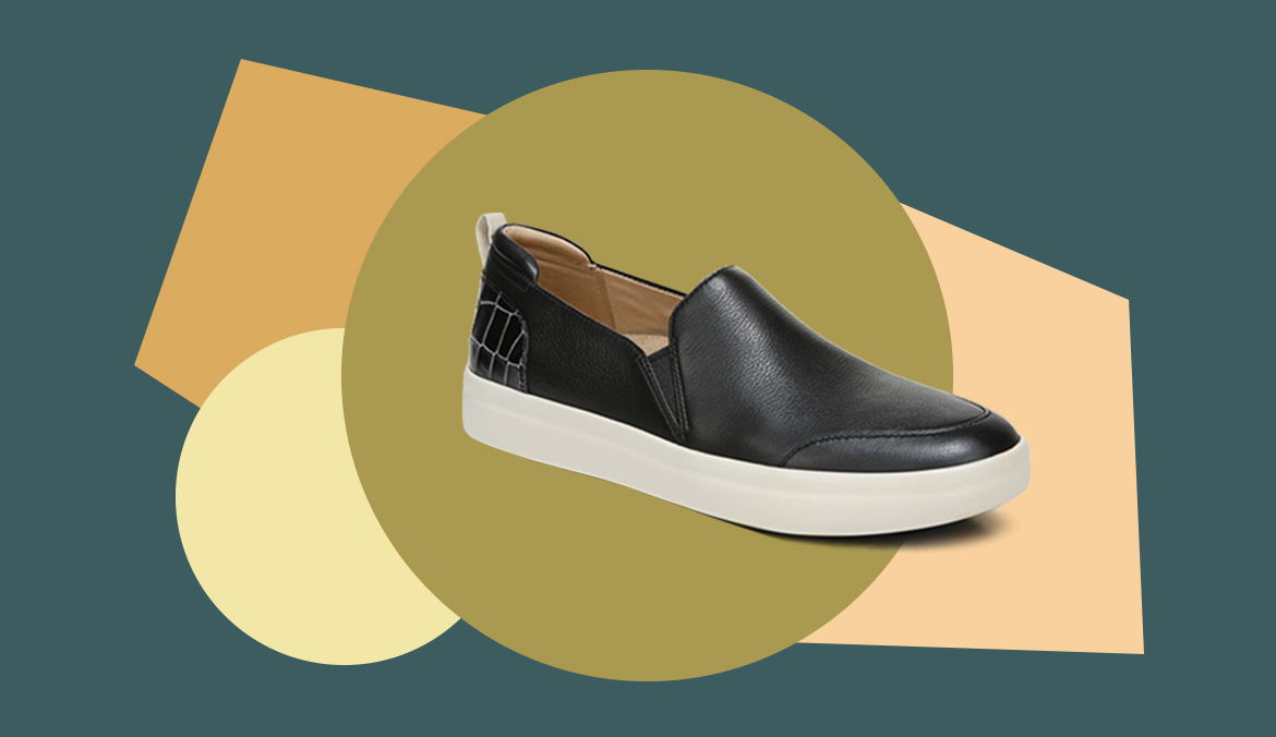 Thumbnail for 8 Podiatrist-Approved, Slip-On Sneakers You Can Dress Up or Down