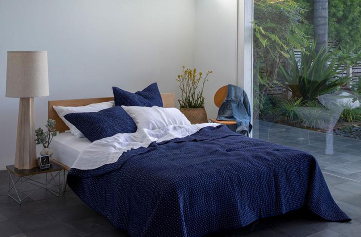 Thumbnail for 8 Gorgeous Lightweight Bedding Options for Hot Summer Nights