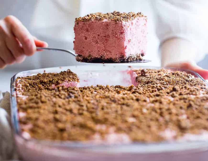 recipes with strawberries cake bars