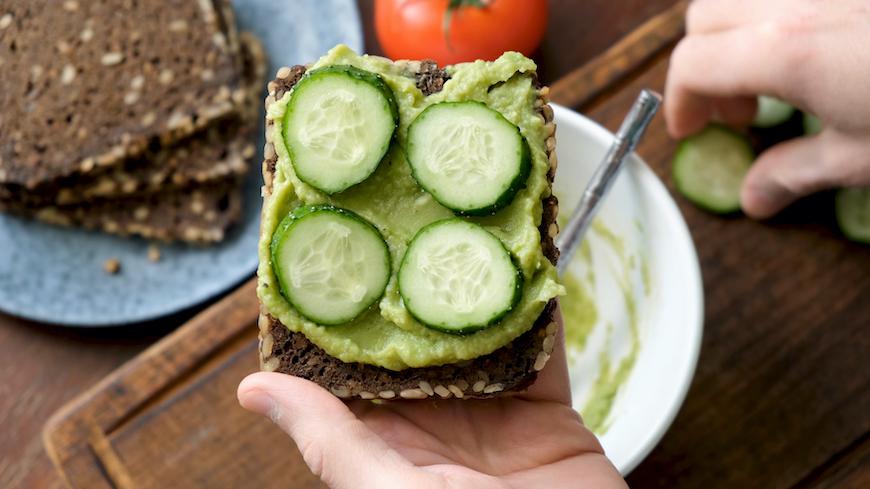 cucumber toast