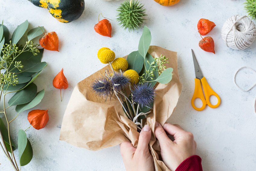 Flower Arranging Mental Health Benefits That'll Make You Want to BYOB (Build Your Own Bouquet)