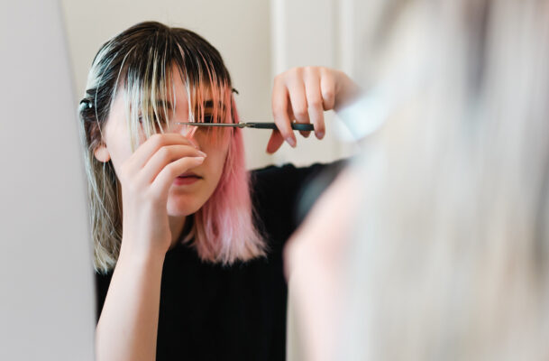 How To Trim Your Own Hair at Home *Without* Having a Meltdown