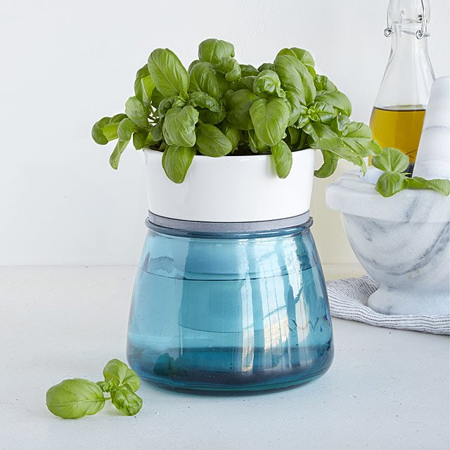 Uncommon Goods Self-Watering Kitchen Herb Pot