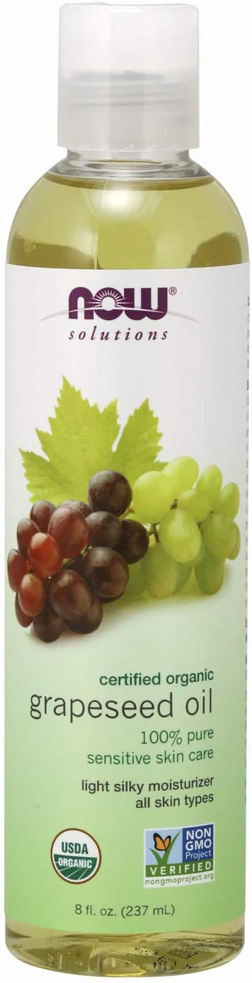 Now Solutions Organic Grapeseed Oil