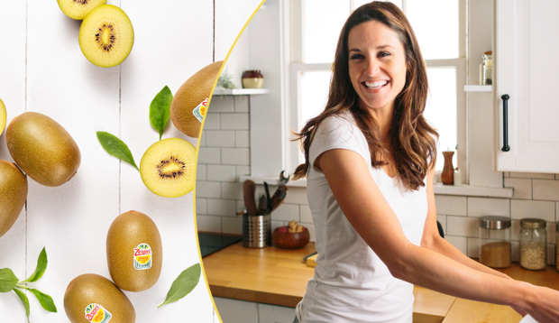 This Golden Kiwi Smoothie Is The Tropical Vacation I've Been Sending My Tastebuds on Every...
