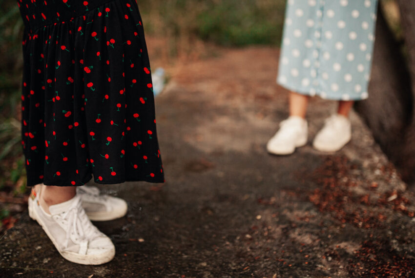 6 Pairs of Sneakers To Wear With Dresses That Will Keep You Comfy and Looking Pulled Together