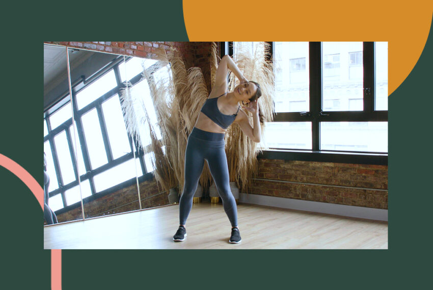 This 10-Minute Dancer-Inspired Standing Core Workout Hardly Feels Like Work