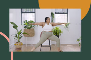 This 15-Minute Chair Yoga Flow Is Perfect for All Bodies, Ages, and Experience Levels