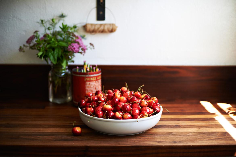 cherries skin benefits