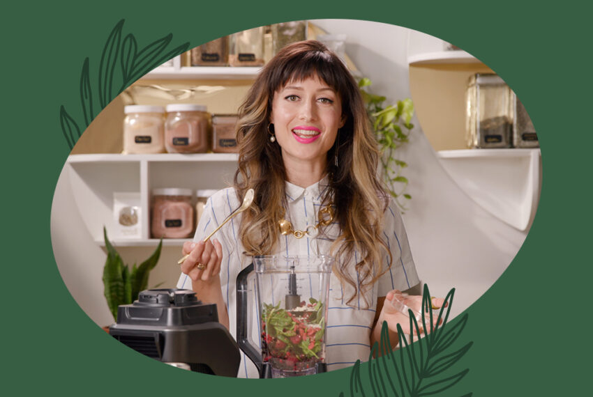 Nourish Your Skin From the Inside Out With This Herb-Infused Smoothie Recipe