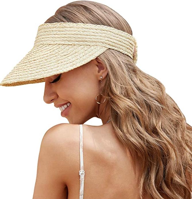 straw-visor