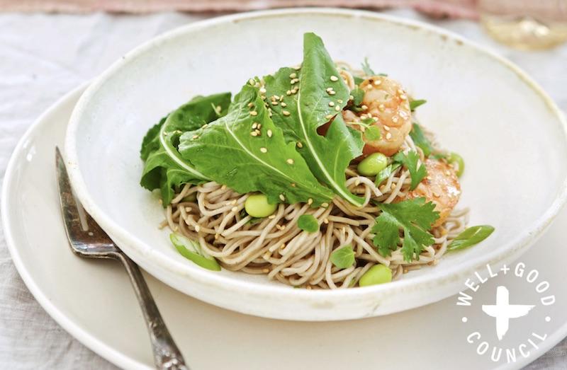 Spicy Soba Noodle Salad |
