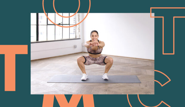 This Equipment-Free HIIT Workout Will Have Your Core and Glutes Feeling the Burn In Under 17 Minutes
