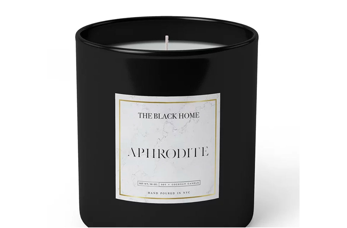 black home candle |